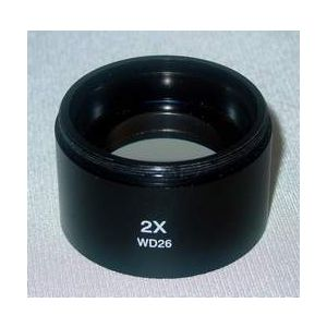2X Boost Lense for SZM microscopes, WD26