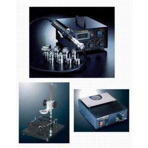 MADELL 850D Rework Station(8 Nozzles)+Fixture+Hot Plate