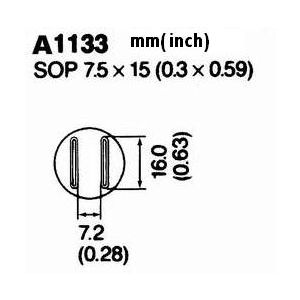 Hot Air Nozzle A1133