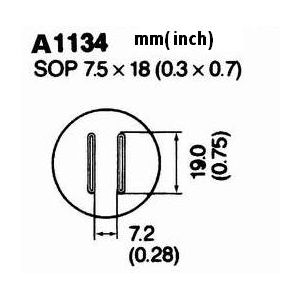 Hot Air Nozzle A1134