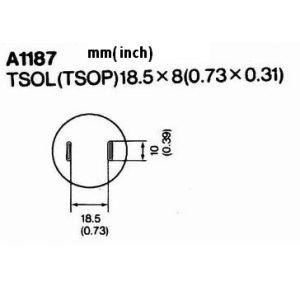Hot Air Nozzle A1187
