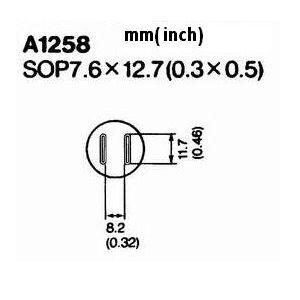 Hot Air Nozzle A1258