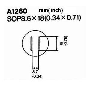 Hot Air Nozzle A1260