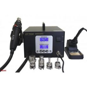 Madell 8502D Hot Air SMT 2-In-1 Rework Station with 4 Nozzles