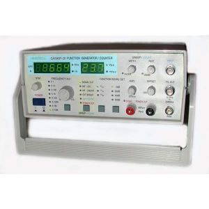 20MHz Sweeping Analog Function Generator/Frequency Counter with 50V, 1A Power Output
