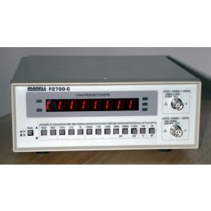 2.7 GHz Frequency Counter