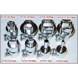 6 Hot Air Nozzles
