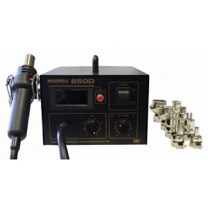 MADELL 850D Hot Air Rework Station with 4 Nozzles